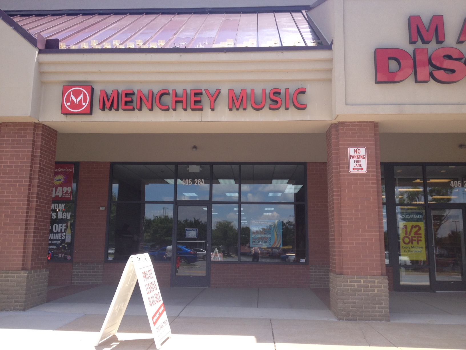 Menchey Music in Westminster, MD